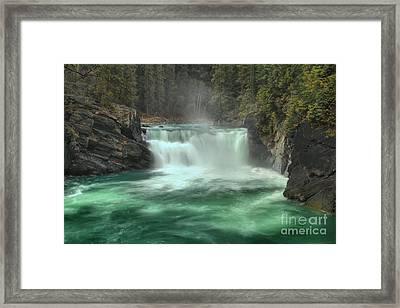 Overlander Falls Framed Print