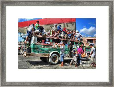 Overload Framed Print by Yhun Suarez