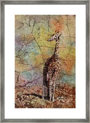 Overlook Framed Print by Ryan Fox