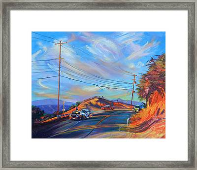 Overlooked Framed Print by Bonnie Lambert