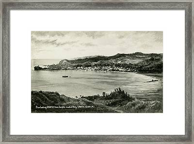 Overlooking Umatic  Framed Print by eGuam Photo