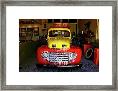 Overpainted 1950 Ford Pickup Framed Print