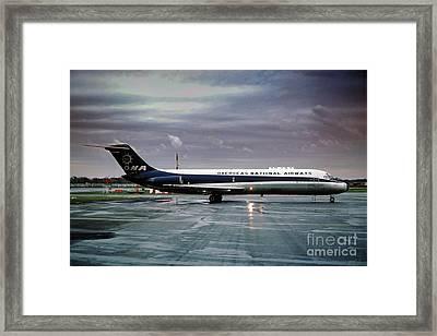 Overseas National Airways Douglas Dc-9-32f, N938f, Cargo Jet Gin Framed Print
