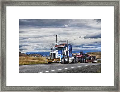 Oversize Load Framed Print