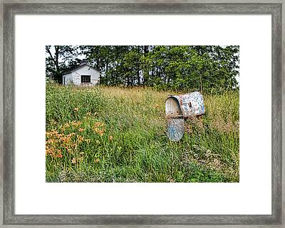 Overtaken By Time Framed Print by Cricket Hackmann
