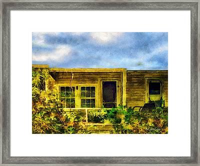 Overtaken Framed Print by RC deWinter