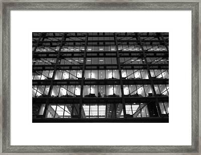 Overtime Framed Print
