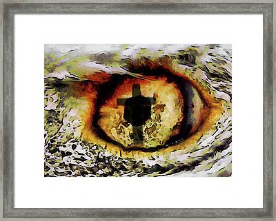 Overwhelmed Remember Him Framed Print by Ernie Echols