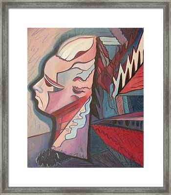 Overwhelmed Framed Print by Suzanne  Marie Leclair