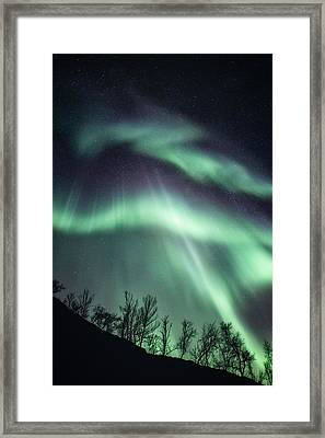 Overwhelmed Framed Print