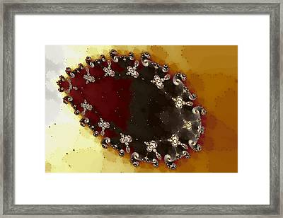 Ovoid Cluster Framed Print by Mark Eggleston
