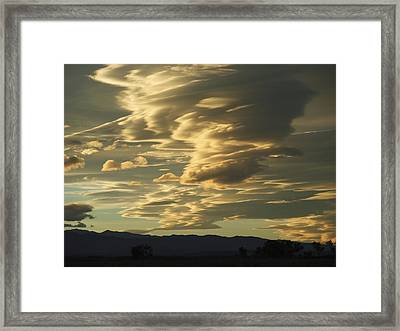 Owens Valley Evening Framed Print by Alpha Pup