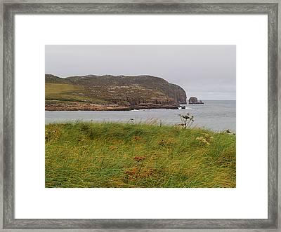 Owey Island Framed Print