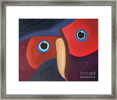 Owl - Sold Framed Print by Paul Anderson