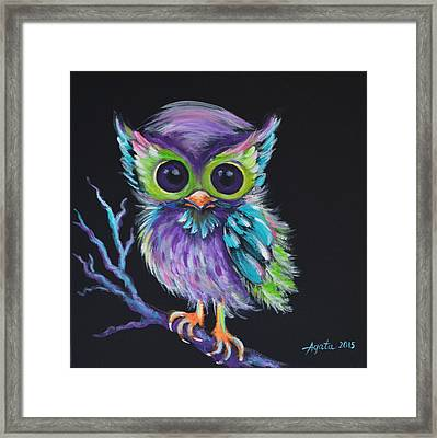 Owl Be Your Friend Framed Print