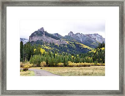 Owl Creek Pass 1 Framed Print by Paul Cannon