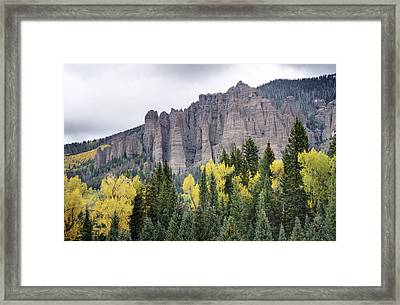 Owl Creek Pass 2 Framed Print by Paul Cannon