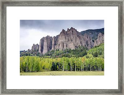 Owl Creek Pass 4 Framed Print by Paul Cannon