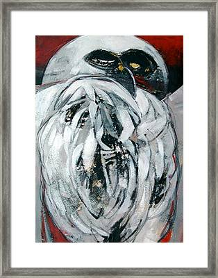 Owl Framed Print by Dale  Witherow