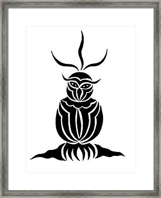 Owl For Nicole Framed Print