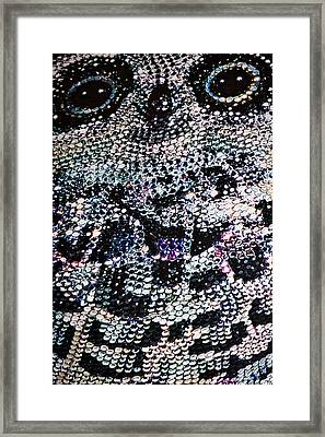 Owl Handbag Flag Framed Print by Stuart Litoff