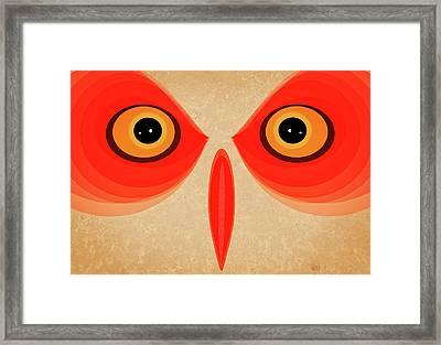 Owl Framed Print by Johan Lilja