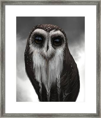 Owl Master Framed Print by Alex Ruiz