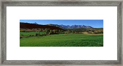 Owl Pass, Ridgeway, Colorado Framed Print by Panoramic Images