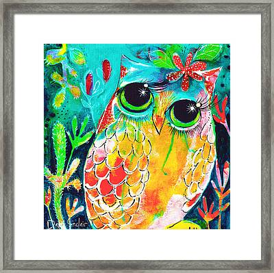 Owlette Framed Print by DAKRI Sinclair