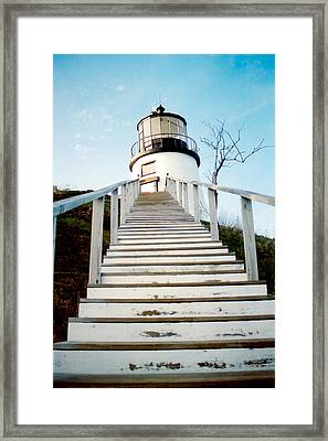 Owl's Head Light Framed Print