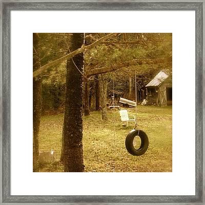 #owlsheadny ❤ Framed Print by Cheley Frazier