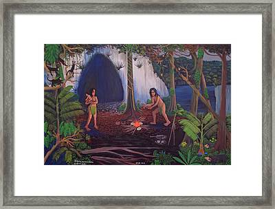 Owners Of The Jungle Framed Print