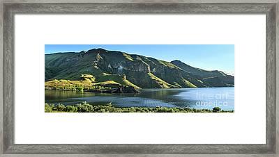 Owyhee Reservoir Framed Print by Robert Bales