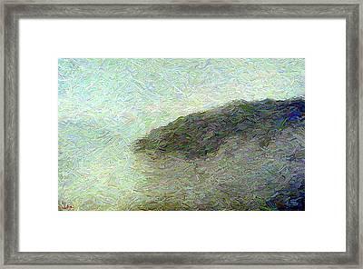 Ox Creek Fog Framed Print by Gerhardt Isringhaus