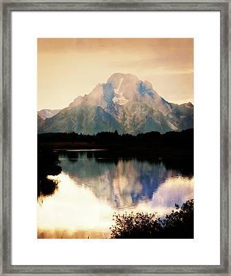 Oxbow Bend 14 Framed Print by Marty Koch
