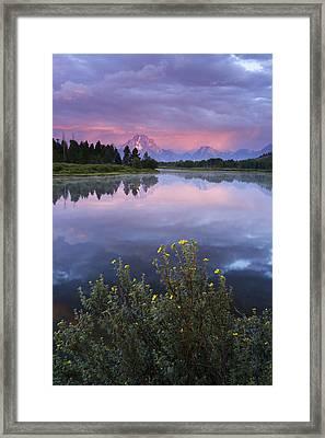 Oxbow Bend Framed Print by Eric Foltz