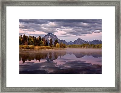 Oxbow Framed Print