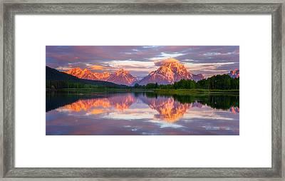 Oxbow Magic Framed Print by Darren  White
