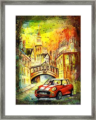 Oxford Authentic Madness Framed Print by Miki De Goodaboom