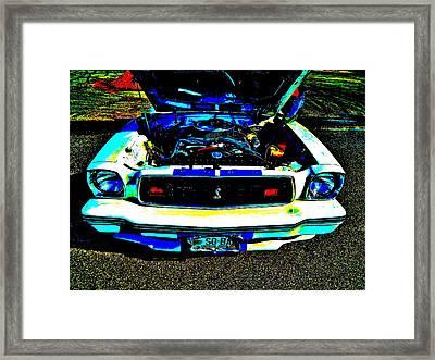 Oxford Car Show 49 Framed Print
