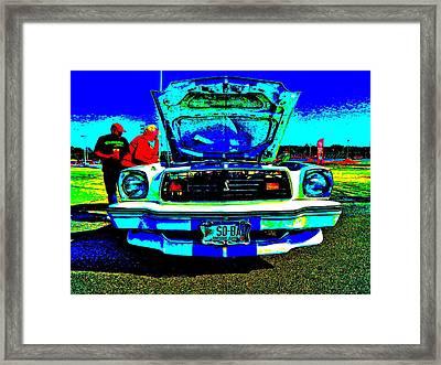 Oxford Car Show 50 Framed Print