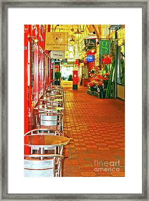 Oxford Covered Market Hdr Framed Print