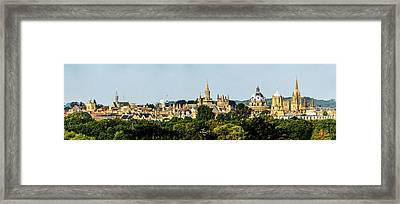 Oxford Spires Framed Print