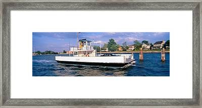 Oxford To Bellevue Ferry, Continuous Framed Print