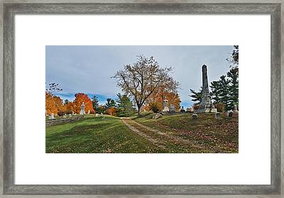 Oxford Trail Framed Print by 2141 Photography