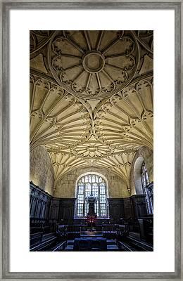 Oxford University Convocation House Framed Print by Stephen Stookey