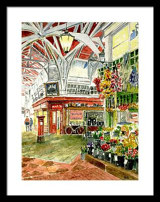 Farmstand Paintings Framed Prints