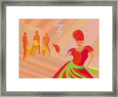 Oya Dancer Framed Print