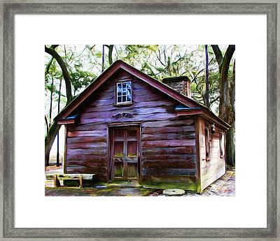 Oyster House On  Henry Ford Plantation Framed Print by Fred Baird