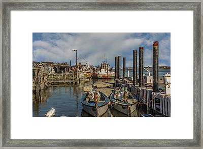 Oyster Town Framed Print